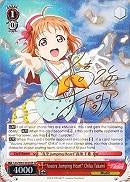 "LSS/W45-E035SP ""Aozora Jumping Heart"" Chika Takami (Foil) - Love Live! Sunshine!! English Weiss Schwarz Trading Card Game"