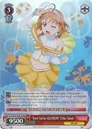 "LSS/W45-E041R ""Koini Naritai AQUARIUM"" Chika Takami (Foil) - Love Live! Sunshine!! English Weiss Schwarz Trading Card Game"