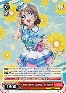 "LSS/W45-TE08R ""Kimino Kokorowa Kagaiterukai?"" You Watanabe (Foil) - Love Live! Sunshine!! English Weiss Schwarz Trading Card Game"