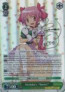 "MM/W17-E022SP Madoka's ""Secret"" (Foil)"