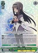 MM/W17-E028R Magical Girl of Time, Homura (Foil)