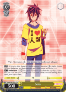NGL/S58-TE01 Sora - No Game No Life Trial Deck English Weiss Schwarz Trading Card Game