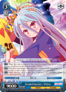 NGL/S58-TE18 Grandmaster, Shiro - No Game No Life Trial Deck English Weiss Schwarz Trading Card Game