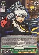 P4/EN-S01-027S Destined Confrontation, Labrys (Foil) - Persona 4 English Weiss Schwarz Trading Card Game