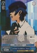 P4/EN-S01-076S Infinite Possibilities, Naoto (Foil) - Persona 4 English Weiss Schwarz Trading Card Game