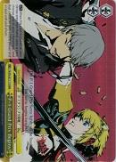 P4/EN-S01-T11R P-1 Grand Prix Begins! (Foil) - Persona 4 English Weiss Schwarz Trading Card Game