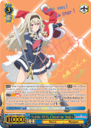 RSL/S56-E068SSP Noble Will, Claudine Saijo (Foil) - Revue Starlight English Weiss Schwarz Trading Card Game