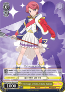 RSL/S56-TE01R The Stage of Fate, Futaba Isurugi (Foil) - Revue Starlight English Weiss Schwarz Trading Card Game