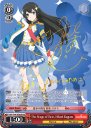 RSL/S56-TE08SP The Stage of Fate, Hikari Kagura (Foil) - Revue Starlight English Weiss Schwarz Trading Card Game