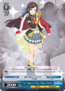 RSL/S56-TE17R The Stage of Fate, Maya Tendo (Foil) - Revue Starlight English Weiss Schwarz Trading Card Game