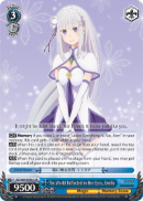 RZ/S68-E056S The World Reflected in Her Eyes, Emilia (Foil)