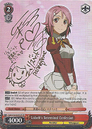 SAO/S20-E053SP Lisbeth's Determined Confession (Foil) - Sword Art Online English Weiss Schwarz Trading Card Game