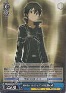 SAO/S20-E079R Kirito in the Battlefield (Foil) - Sword Art Online English Weiss Schwarz Trading Card Game