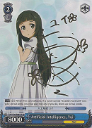 SAO/S20-E081SP Artificial Intelligence, Yui (Foil) - Sword Art Online English Weiss Schwarz Trading Card Game
