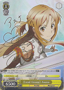 SAO/S20-E101SP 《Lead Group》Asuna (Foil) - Sword Art Online English Weiss Schwarz Trading Card Game