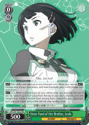 SAO/S51-E021 Sister Fond of Her Brother, Leafa