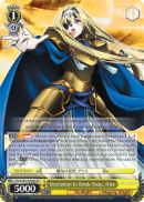 SAO/S65-E002S Resolution to Break Away, Alice (Foil) - Sword Art Online -Alicization- Vol. 1 English Weiss Schwarz Trading Card Game