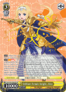 SAO/S65-E004SP Brilliant Female Knight, Alice (Foil)