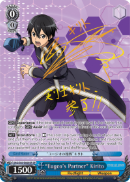 "SAO/S65-E069SP ""Eugeo's Partner"" Kirito (Foil) - Sword Art Online -Alicization- Vol. 1 English Weiss Schwarz Trading Card Game"