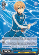 SAO/S65-E070S Roommate of a Free Spirit, Eugeo (Foil) - Sword Art Online -Alicization- Vol. 1 English Weiss Schwarz Trading Card Game