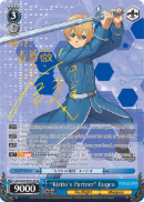 "SAO/S65-E071SP ""Kirito's Partner"" Eugeo (Foil) - Sword Art Online -Alicization- Vol. 1 English Weiss Schwarz Trading Card Game"