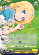 "SAO/S65-TE06SP ""Female Childhood Friend"" Alice (Foil) - Sword Art Online -Alicization- Vol. 1 English Weiss Schwarz Trading Card Game"