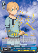 SAO/S65-TE14SP Fate Beginning to Change, Eugeo (Foil)