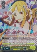 SAO/S51-E001S On Stage, Asuna (Foil) - Sword Art Online The Movie – Ordinal Scale – English Weiss Schwarz Trading Card Game