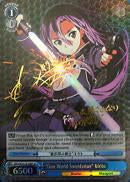 "SAO/SE23-TE14SP ""Gun World Swordsman"" Kirito (Foil)"
