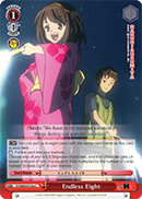 SY/WE09-E19a Endless Eight - The Melancholy of Haruhi Suzumiya Extra Booster English Weiss Schwarz Trading Card Game