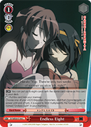 SY/WE09-E19d Endless Eight - The Melancholy of Haruhi Suzumiya Extra Booster English Weiss Schwarz Trading Card Game