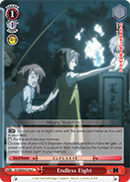 SY/WE09-E19g Endless Eight - The Melancholy of Haruhi Suzumiya Extra Booster English Weiss Schwarz Trading Card Game