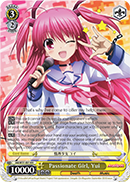 AB/W31-E014 Passionate Girl, Yui - Angel Beats! Re:Edit English Weiss Schwarz Trading Card Game