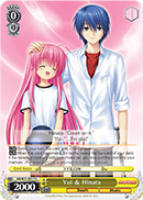 AB/W31-E017 Yui & Hinata - Angel Beats! Re:Edit English Weiss Schwarz Trading Card Game