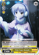 AB/W31-E043	Pink Cape, Kanade - Angel Beats! Re:Edit English Weiss Schwarz Trading Card Game