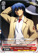 AB/W31-E088 Moodmaker, Hinata - Angel Beats! Re:Edit English Weiss Schwarz Trading Card Game