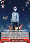 AB/W31-E098 Operation Tornado - Angel Beats! Re:Edit English Weiss Schwarz Trading Card Game