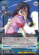 BM/S15-E076 Girl Charmed By a Cat, Tsubasa Hanekawa - BAKEMONOGATARI English Weiss Schwarz Trading Card Game