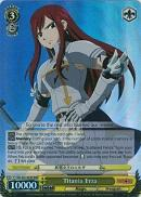 FT/EN-S02-002R Titania Erza (Foil) - Fairy Tail English Weiss Schwarz Trading Card Game