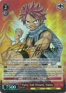 FT/EN-S02-053SP Fairy Tail Wizard, Natsu (Foil) - Fairy Tail English Weiss Schwarz Trading Card Game
