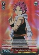 FT/EN-S02-056S A Place to Return to, Natsu (Foil) - Fairy Tail English Weiss Schwarz Trading Card Game