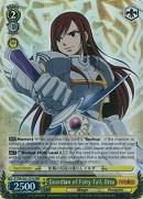 FT/EN-S02-101R Guardian of Fairy Tail, Erza (Foil) - Fairy Tail English Weiss Schwarz Trading Card Game