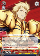 FZ/S17-E057 King of All Creation, Archer - Fate/Zero English Weiss Schwarz Trading Card Game