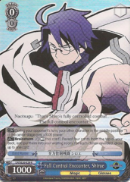 LH/SE20-E29 Full Control Encounter, Shiroe (Foil) - LOG HORIZON Extra Booster English Weiss Schwarz Trading Card Game
