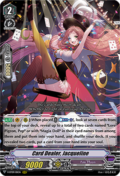 V-BT09/011EN Card Dealer, Jacqueline