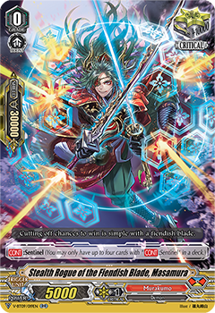 V-BT09/019EN Stealth Rogue of the Fiendish Blade, Masamura
