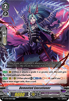 V-BT09/020EN Demonted Executioner