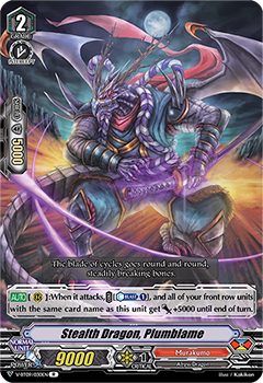 V-BT09/030EN Stealth Dragon, Plumblame