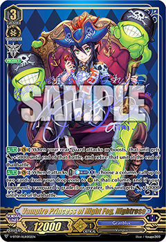 V-BT09/RLR002EN Vampire Princess of Night Fog, Nightrose