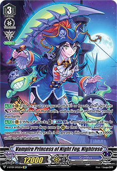 V-BT09/SP02EN Vampire Princess of Night Fog, Nightrose